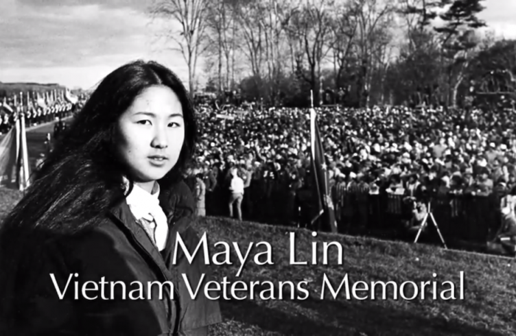 maya lin a strong clear vision essay Maya lin, the chinese american sculptor who designed the vietnam veterans memorial, is able to address major issues of our time through the power of art.