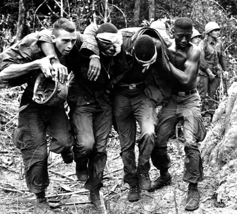 How do you find a directory of Vietnam War casualties?